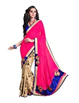 Pikasho Party Wear Cutpatch Saree 8017