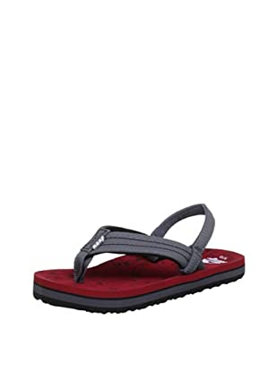 Reef Chanclas Surfers Are Friends (Rojo/Gris)