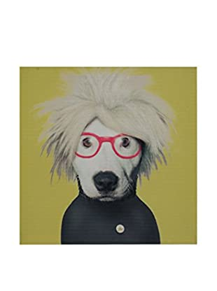 LO+DEMODA Leinwandbild Dog Glasses