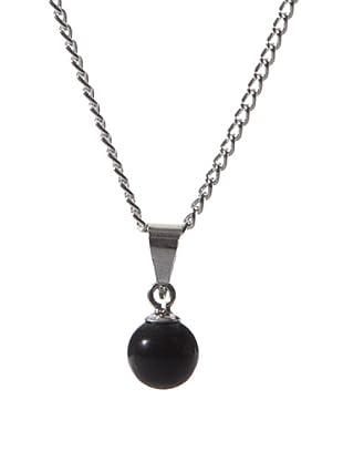 Vip de Luxe Colgante Perlas Negras
