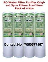 RO PRE Filter Luzon Dzire RO Water Purifier Filter Sediment PP (spun) 5 Micron. 4 Pcs