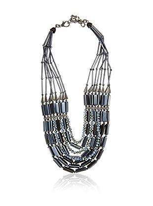 I WANT YOU Halskette Tripoli blau