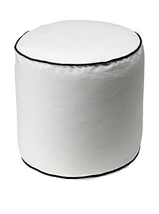 13 Casa  Pouf Bicolor 3 weiß