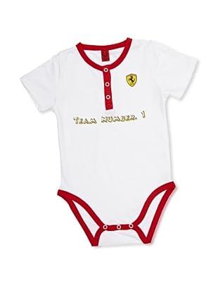 Ferrari Body Baby Grow (Blanco)
