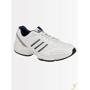 Adidas Men L12376 White Real Blue Alumin Sports Shoes