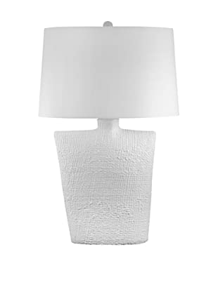 Aurora Lighting Oval Bisque Ceramic Lamp