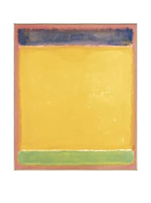 Mark Rothko: Untitled (Blue, Yellow, Green on Red)