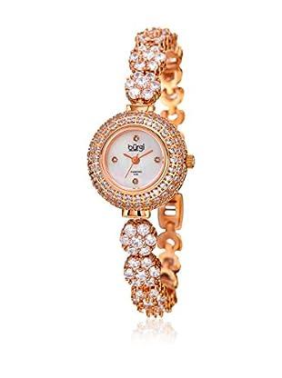Bürgi Uhr mit japanischem Quarzuhrwerk Woman rosé 25 mm