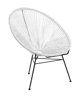 Lo+Demoda Stuhl 2er Set Acapulco Color Edition weiß