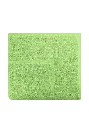 Manterol Alfombra Baño Rizo Algodón (Verde Musgo)