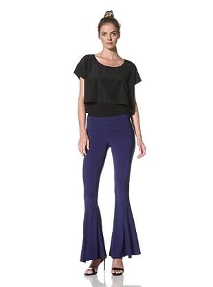 Norma Kamali Women's Fishtail Pant (Cobalt)