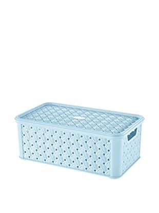 Tontarelli Caja Contenedor x 8 Arianna Media 4L Cielo