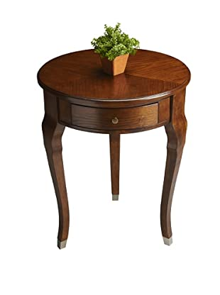 Butler Specialty Company Chestnut Burl Side Table