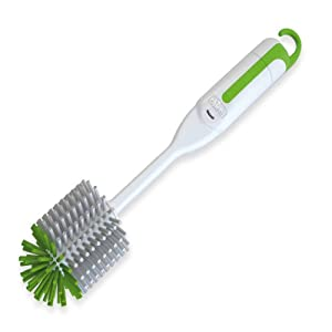 Chicco 3-in-1 Bottle Brush (White/Green)