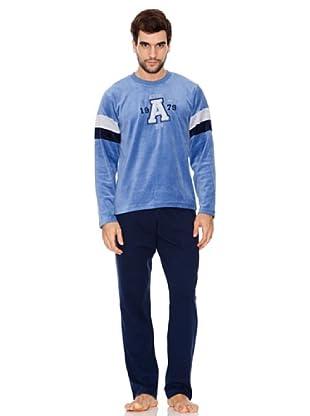 Abanderado Pijama Caballero (Azul)