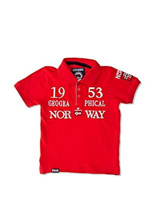Geographical Norway Polo Kani Ss Boy 402 (Rojo)