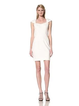 Marc New York Women's Layered Cap Sleeve Dress (Eggshell)