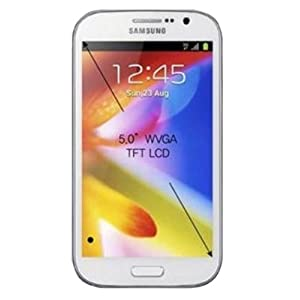 Samsung Galaxy Grand Duos GT-I9082 (Elegant White, 2 flip covers)