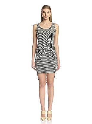 S.H.E. Soul Harmony Energy Women's Striped Twist Detail Dress