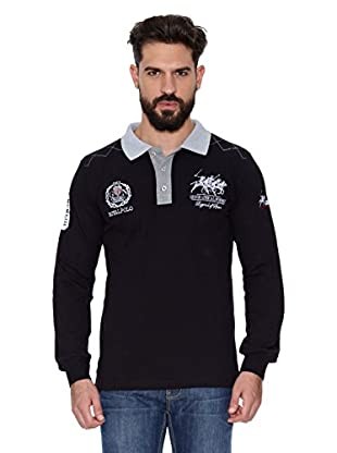 Geographical Norway Polo Manga Larga ML Kitsh Men Ls 100 (Gris)