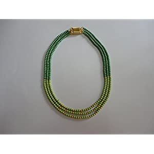 Mona Jewels Three-Lined Necklace