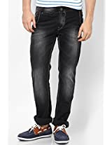 Black Narrow Fit Jeans