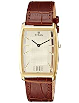 Titan Edge Analog (GOLD) Dial Men's Watch - NE1575YL01