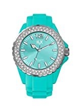 H2X Reef Stones Analog Green Dial Women's watch - SS382DT2