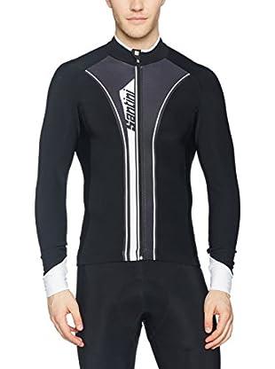 Santini Maillot Ciclismo Vega Aqua Zero Thermofleece