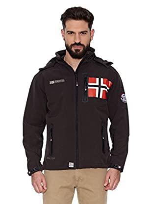 Geographical Norway Chaqueta Soft Shell Revlon Men 4 (Marrón)
