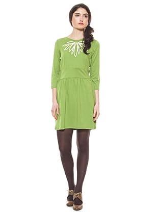 La Casita de Wendy Vestido Bordado (Verde)