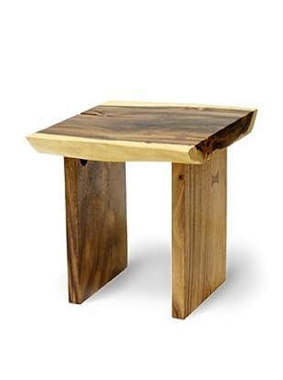 Palecek Plank Top End Table