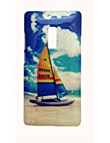 Protective Printed Back cover for One Plus Two ( 1+ 2 ). Print Collection: Boat