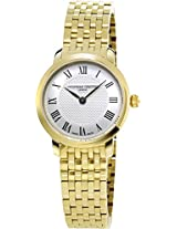 Frederique Constant Analogue White Dial Women's Watch - FC-200MCS5B