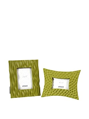 Set of 2 Essentials Frames, Green