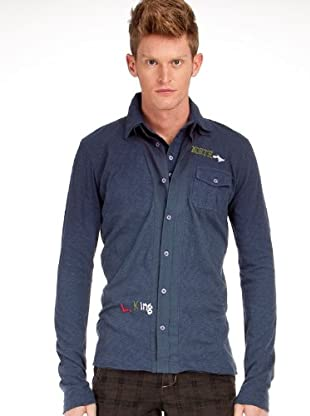 Custo Camisa (Azul Marino)