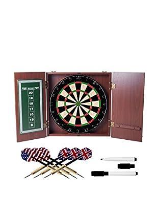 Trademark Games Dartboard Cabinet Dart Set, Multi