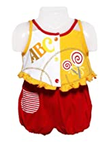 Toddler Suit - ABC to Z Sleeveless Suits