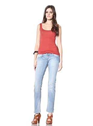 M.O.D Miracle of Denim Women's Alice Straight Leg Jean (Powder Blue)