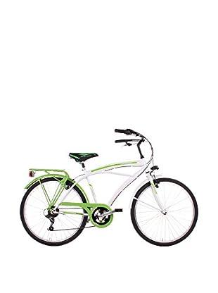 SCHIANO Fahrrad 26 Cruiser 307 weiß/grün