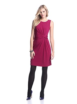 Muse Women's Twisted Waist Dress (Cerise)