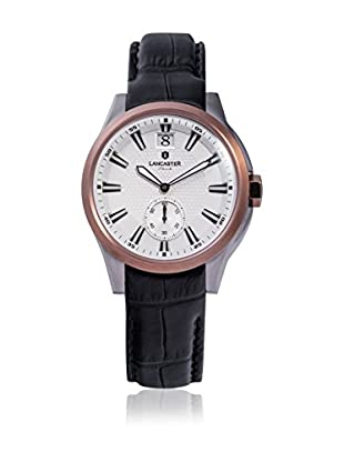 Lancaster Reloj de cuarzo Unisex Apollo Big Date Medium 38.0 mm