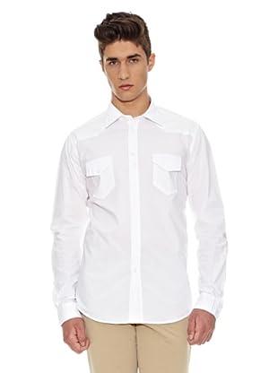 Carrera Jeans Camisa Popeline (Blanco)