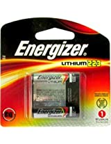 Energizer 223 6 Volt Photo Lithium Battery