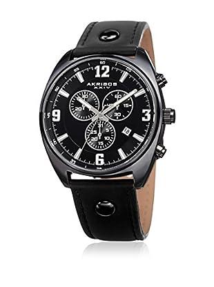 Akribos XXIV Reloj con movimiento cuarzo suizo Man AK969BK 43 mm