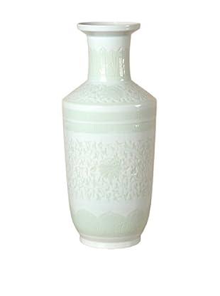 Emissary Ceramic Firecracker Vase (White)