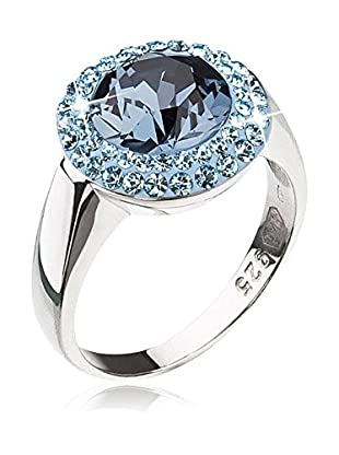 Kristal Boutique Made with Swarovski Elements Ring Crystallin Denim Blue