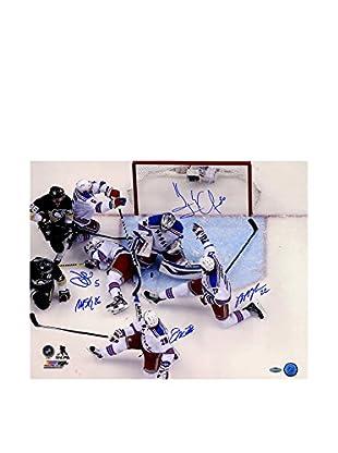 Steiner Sports Memorabilia New York Rangers Multi Signed Key Moment Photo