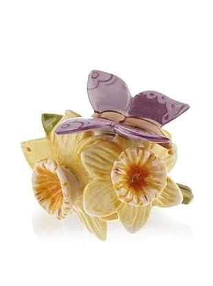 Villeroy & Boch Flower Friends: Osterglocke mit Schmetterling