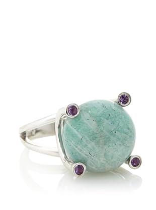 Plukka Women's Amazonite Marble Ring